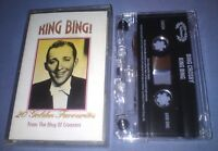 BING CROSBY KING BING cassette tape album T5128