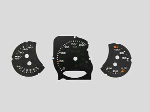 Porsche Cayenne 958,Panamera 970 971 Speedometer dials MPH to KMH Gauges Cluster
