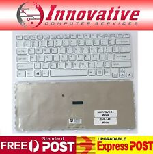 New for Sony SVE14 SVE-14 Series Laptop notebook Keyboard White