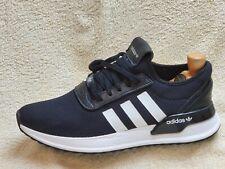 Adidas Originales U-path X Para Hombre Zapatillas Negro/Blanco Reino Unido 9 EUR 43.5