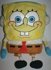 "SpongeBob Square Pants Wearing Winter Ear Muffs 24"" Plush Stuffed 2003 Viacom"