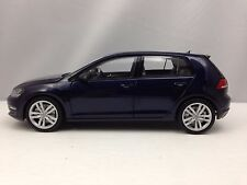 Norev Volkswagen VW Golf VII 2013 Blue 5 Door Hatchback Diecast Model Car 1/18