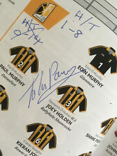 SIGNED 2015 GAA All-Ireland Hurling Final KILKENNY v GALWAY Programme