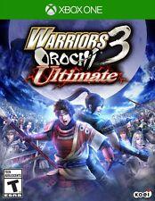 NEW Warriors Orochi 3: Ultimate (Microsoft Xbox One, 2014)