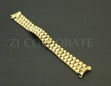 20 MM President jubilee Watch Band Bracelet Fits For Rolex Stainless Gold Color