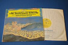 DG 2531264 Debussy Ravel La Mer Rapsodie Espagnole LAPO Giulini stereo