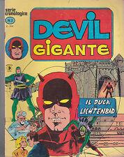 DEVIL GIGANTE n° 3 Ed. CORNO di busta