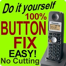 Panasonic Cordless Phone Keypad Button Fix KX-TGA300B KX-TGA300S KX-TGA600B
