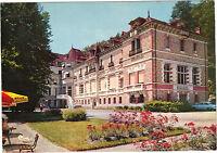 23 - cpsm - EVAUX LES BAINS - Le Grand Hôtel et l'établissement thermal