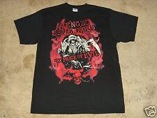 Avenged Sevenfold Flame Reaper S, M, L, XL, 2XL Black T-Shirt