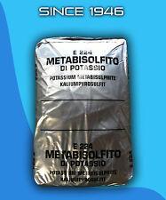 Potassium Metabisulfite 10 lb Bag Wine Making E224