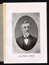 MITCHELL, Austin Richards,  Financier, Business Man - 1917 Portrait Lithograph