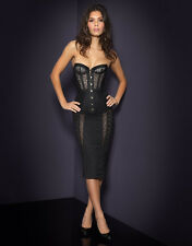 AGENT PROVOCATEUR MERCY SKIRT BLACK SIZE 4 / LARGE / 12-14 RRP BNWT