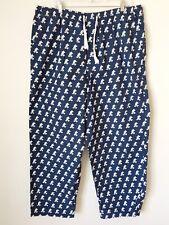 Disney Parks Mickey Mouse 2XL Navy Blue Drawstring Pajama Pants XXL Loungewear