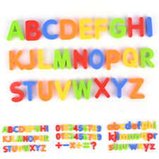 Magnetic Letters Numbers Childrens Kids Alphabet Spelling Magnets toys gifts fun