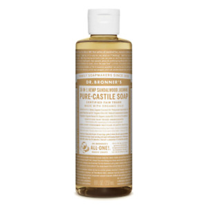 Dr Bronners Castile Liquid Soap Natural Organic Vegan 237ml All Flavours