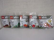 Lego Xtra -5 Sacchetti di Plastica (40309, 40310, 40311, 40312, 40313) -