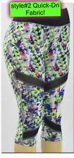 Women YOGA Gym Sports Capri High Waist Stretchy Tight Cropped 3/4 Pants Leggings