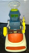 Vintage: 1999 Billy Blastoff. Robbie Robot 2 Vehicles Tv,2 Radios and push cart
