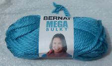 Bernat Mega Bulky Yarn in Teal (#91206) - New & Smoke Free Home