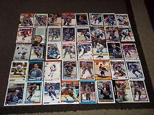 Lot of 80 Edmonton Oilers cards- Kurri, Messier, Lowe, Fuhr, Anderson  ++