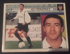 KILY GONZÁLEZ VALENCIA ESTE 01-02, 2001-02, 2001-2002 , SIN PEGAR.