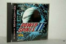 POWER SPIKES 2 VIDEO SYSTEM USATO OTTIMO NEO GEO CD ED GIAPPONESE MB4 47196