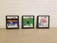 Nintendo ds 3 games lot