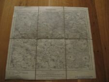 alte Landkarte Düben Nr.365 von 1925 Delitzsch Bad Schmiedeberg  auf Leinen