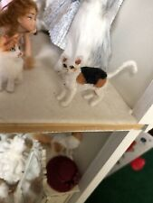 dollhouse miniatures artist offerings cat kitten Ooak 1:12