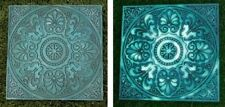 "Garden Path Stepping Stone Glow in the Dark Wall Plaque Geometric NEW 9 1/2"" B"