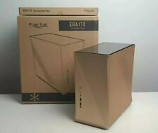 Fractal Design Era ITX Case Gold - Mini ITX PC Tower