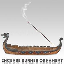 Dragon Incense Stick Holder Artistic Burner Ornament Hand Carving Figurine