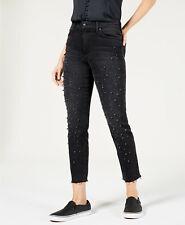 NWT Joe/'s Jeans DEBBIE CROP High Rise Boyfriend KUMI Dark Wash Distressed SZ 25