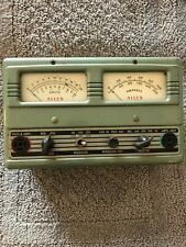 Vintage 1950 Automotive Allen Electric & Equipment Co. Volt/Ammeter Model E1202