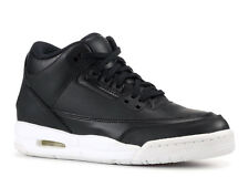 NEW Nike Air Jordan 3 Retro BG Youth Basketball Shoes Black Kids Size 4.5Y