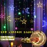 Christmas Lights Moon Star Lamp LED Lamp String Ins Decoration Holiday Lights