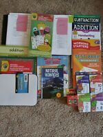 Second Grade: Homeschool Curriculum Box : Math, Grammar (ELA), & Reading