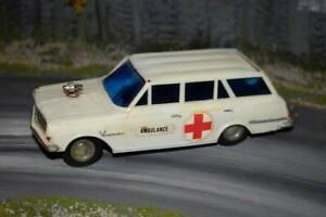 NFIC - Vauxhall Victor FB Estate Ambulance - Plastic - Friction Drive - Rare
