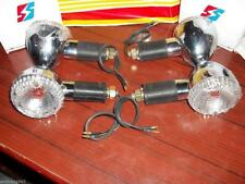 Indicator Lights Set (4pcs Rear + Front) fits Royal Enfield Motorcycle & others