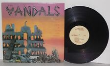 THE VANDALS When In Rome Do As The Vandals LP Vinyl NTR884 Hardcore PLAYS WELL