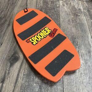 Spooner Board Orange Skating Ski Surf Snowboarding Training Balance Workout Grip