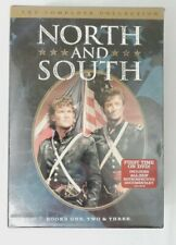 North and South 3 DVD Set Complete Collection Classic Civil War Mini Series