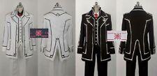 VAMPIRE KNIGHT Cosplay Costume KIRYU ZERO black white