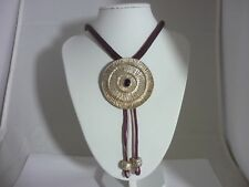 Stunning unusual Huge Heavyweight Sterling Silver & Amethyst Necklace