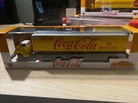 M2 Machines Auto Haulers Coca Cola 1956 Ford COE & 1949 Mercury Coupe.