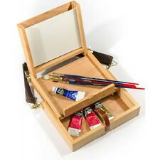 """Artists Wooden Pochade Box takes 8""""x6"""" painting boards"""
