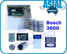 BOSCH ALARM Solution 3000 Kit 3 PIR 16 Zone System Free Programming