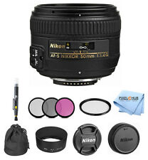 Nikon AF-S NIKKOR 50mm f/1.4G Lens PRO BUNDLE #2180 BRAND NEW!