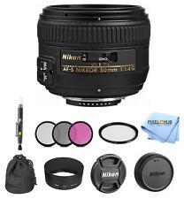 Nikon AF-S NIKKOR 50mm f/1.4G Lens PRO BUNDLE #2180 BRAND NEW!